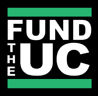 Fund the UC Logo